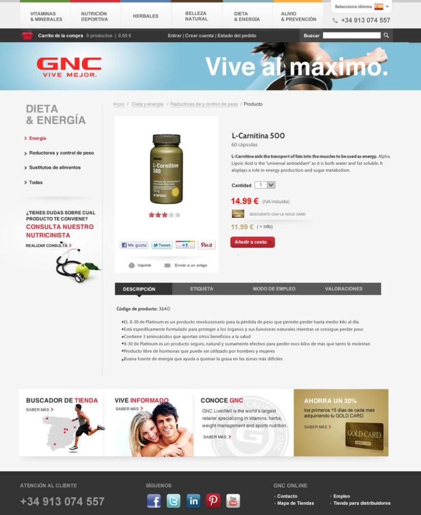 GNC España - Tienda online 4
