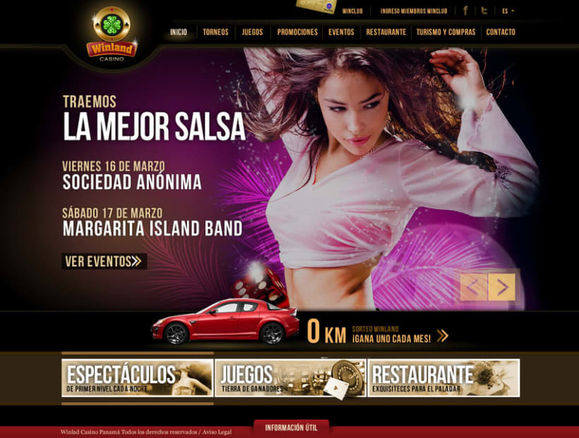 Winland Casino - Web 2