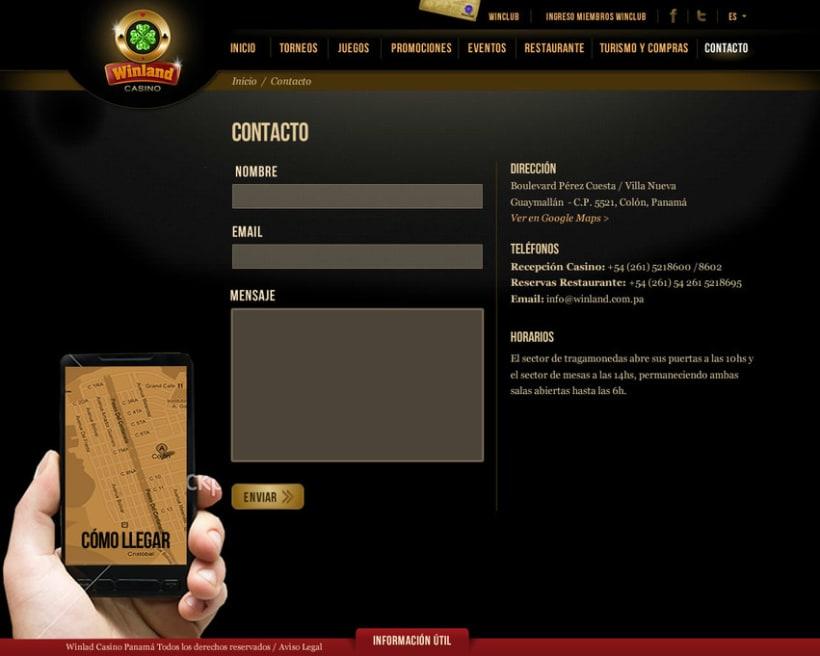 Winland Casino - Web 3