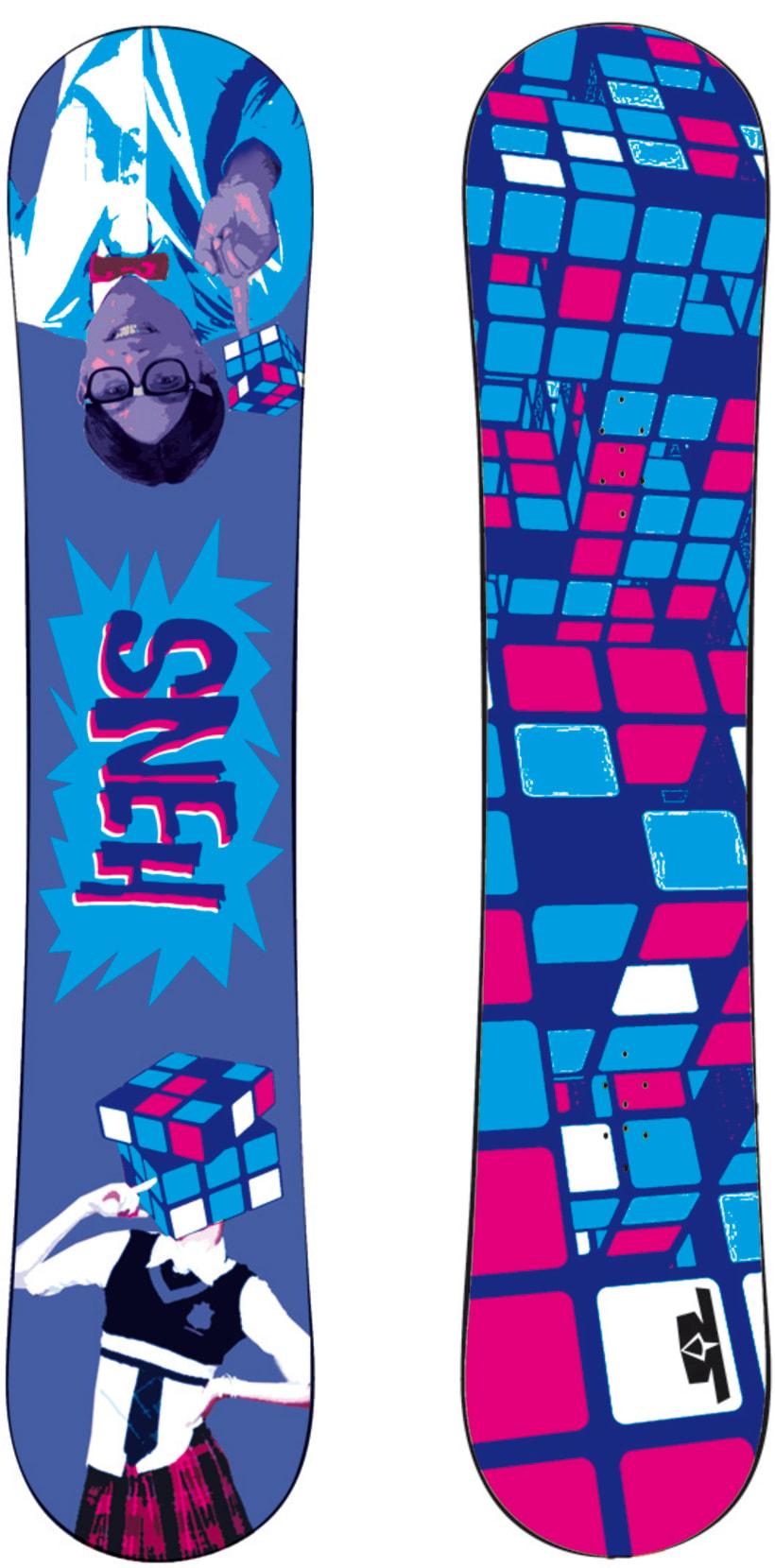 Marca de Snowboards 12