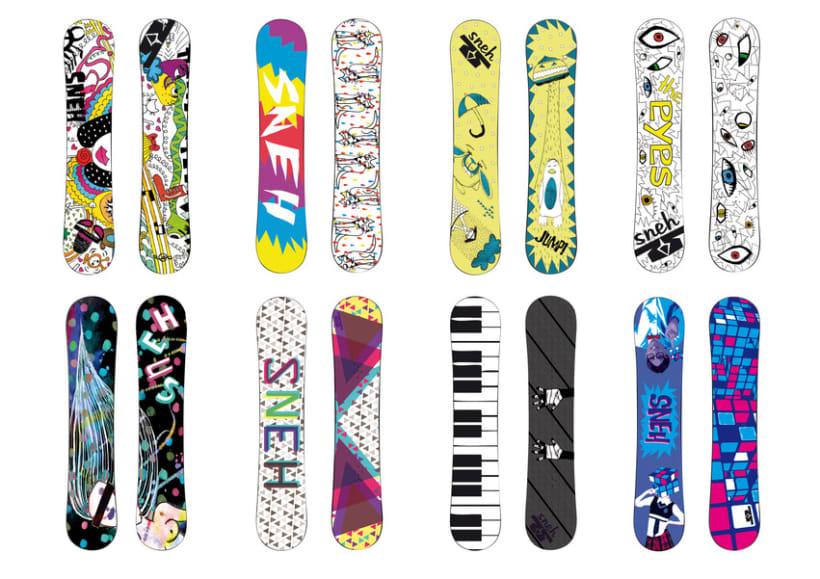Marca de Snowboards 4