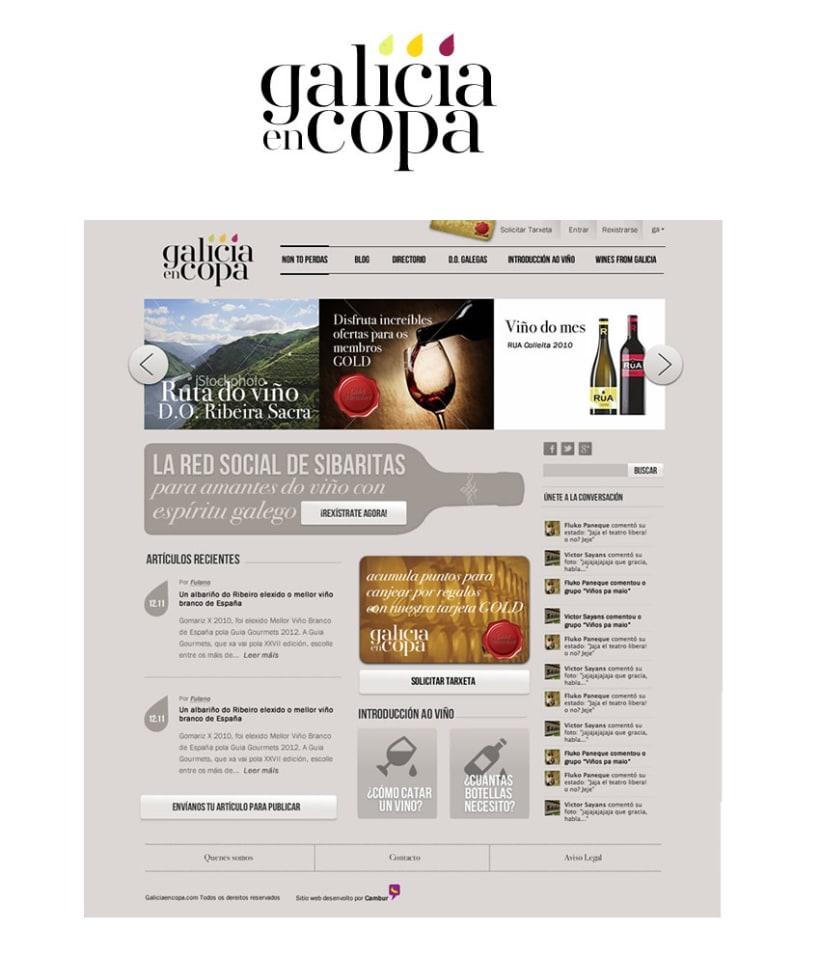 Galicia en copa - Logo 1