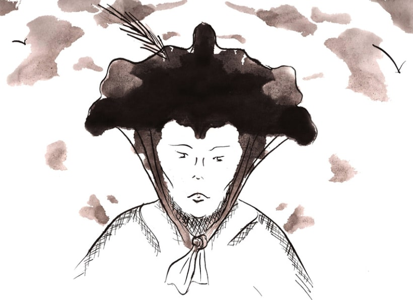 Ilustración Tinta 1