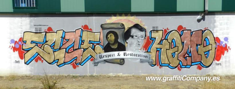 Ecce Homo Graffiti 3