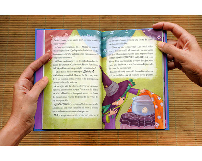 Diseño y maquetación de libros infantiles 3