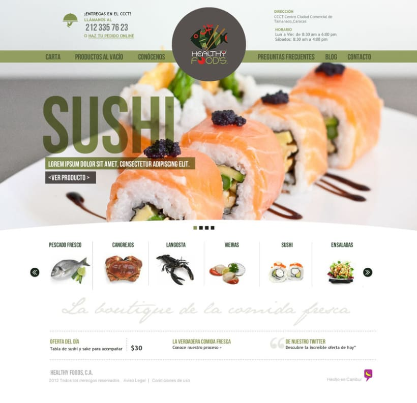 Healthy Foods - Web 2
