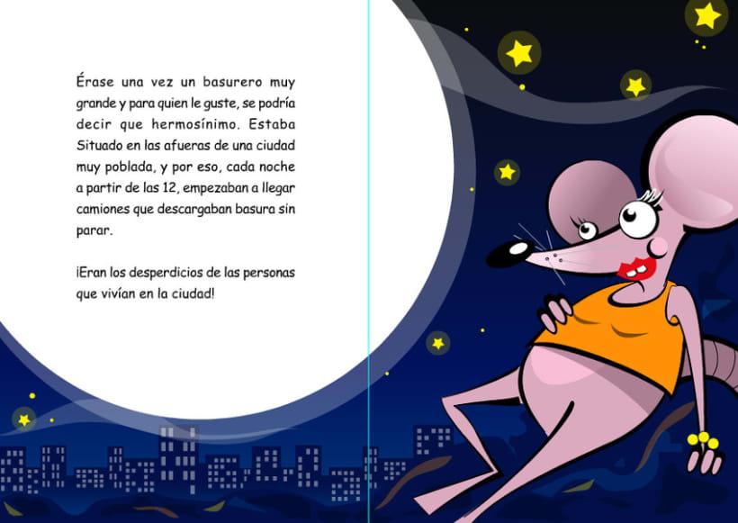 Ilustraciones para cuento infantil. 1