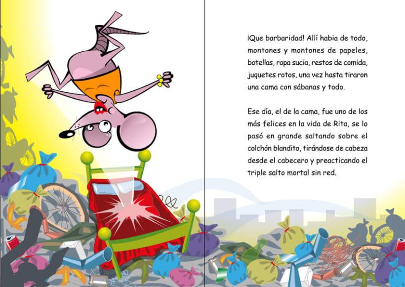 Ilustraciones para cuento infantil. | Domestika