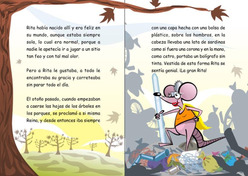 Ilustraciones para cuento infantil. 3