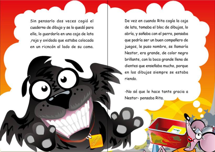 Ilustraciones para cuento infantil. 6