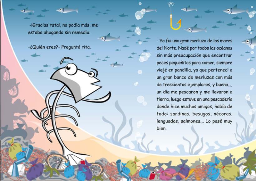 Ilustraciones para cuento infantil. 8