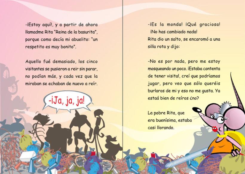 Ilustraciones para cuento infantil. 16
