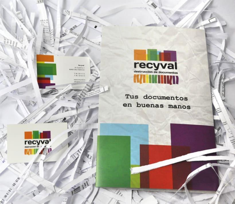 Identidad Corporativa Recyval 4
