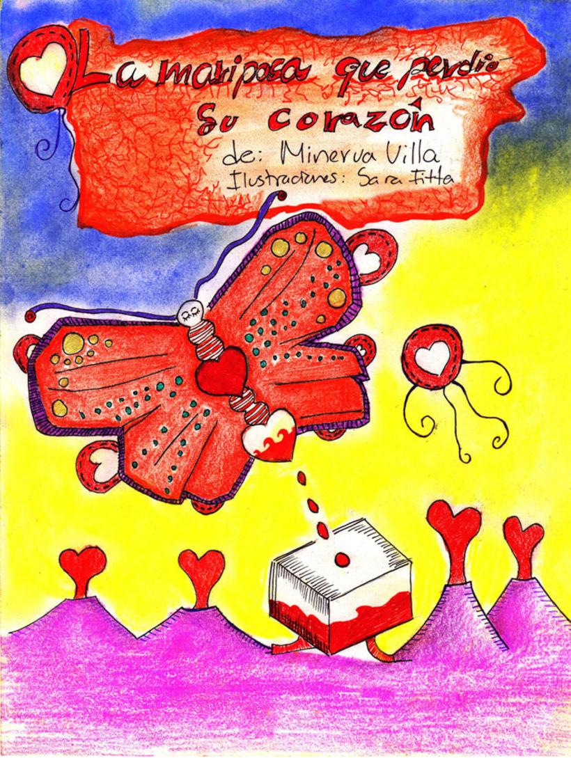 Cuento La mariposa que perdió su corazón  2