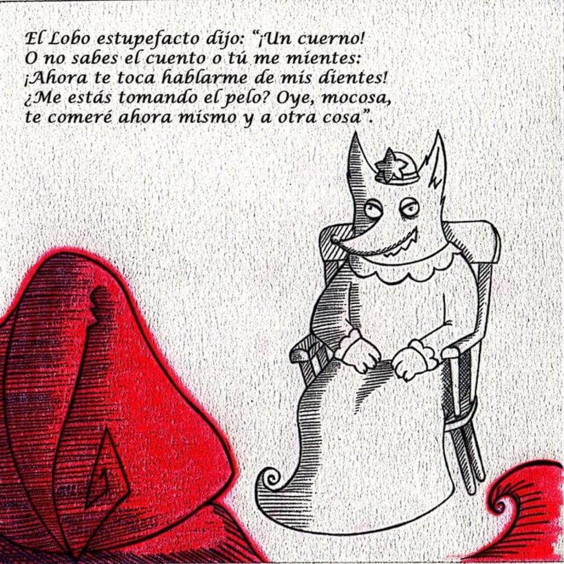 Caperucita Roja / Red Riding Hood 8