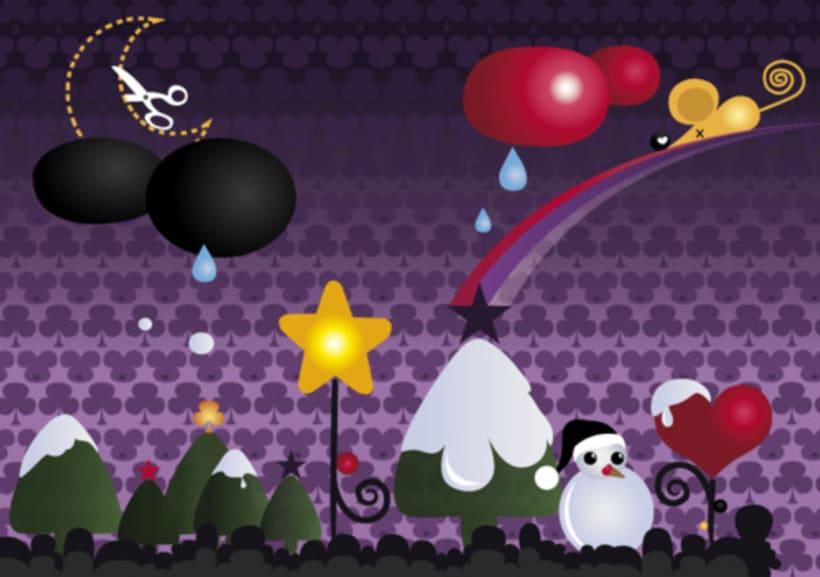 purple christmas 1