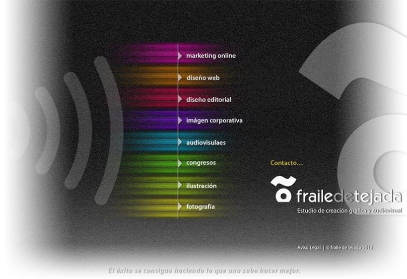 Nueva home page frailedetejada.com 2