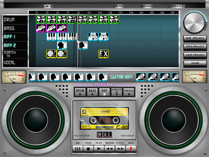 iPad music App 0