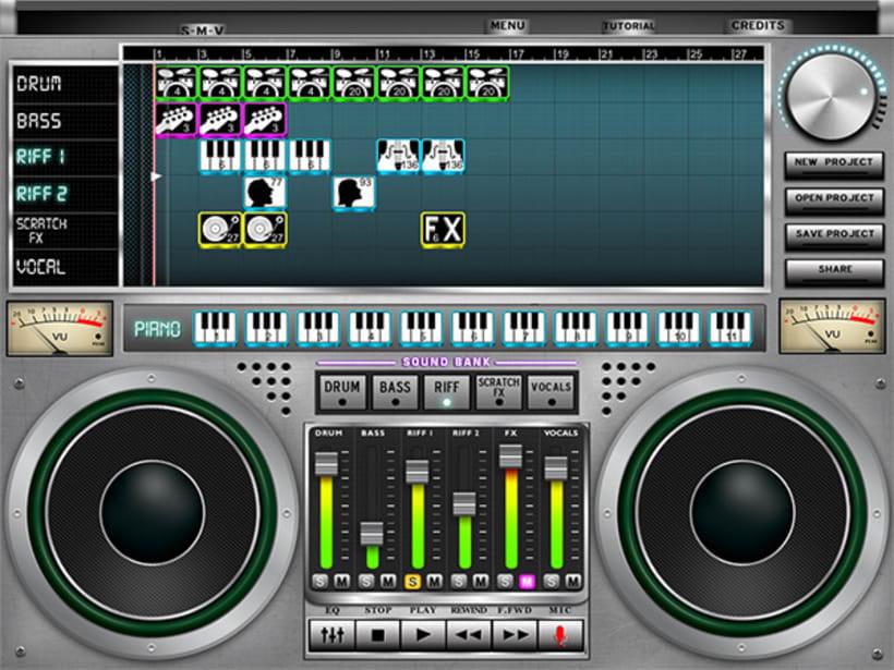 iPad music App 1