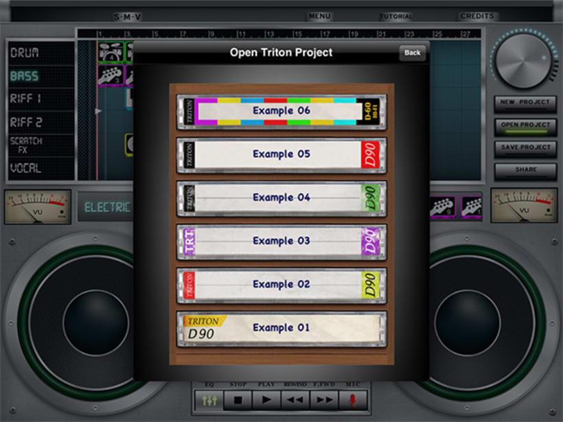 iPad music App 3