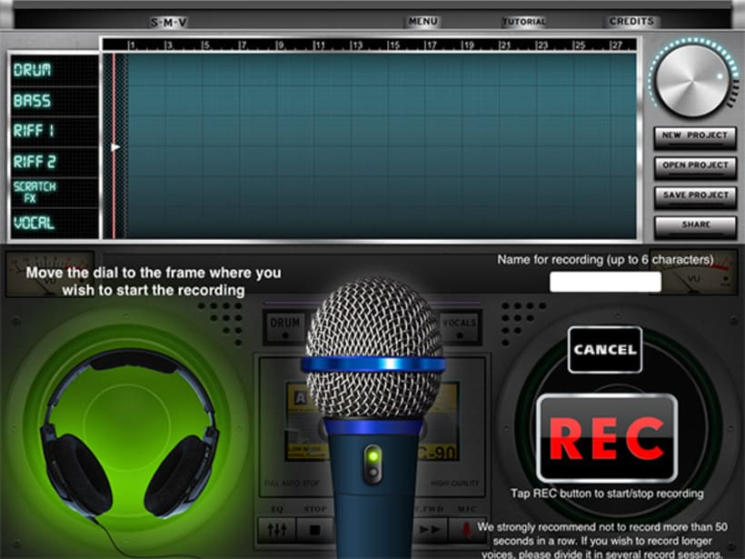 iPad music App 4