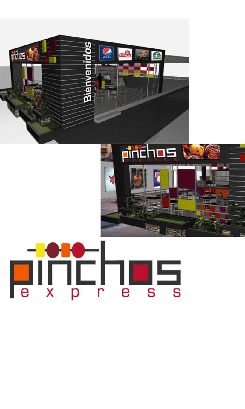 logotipo y propuesta de avisos pinchos express 1