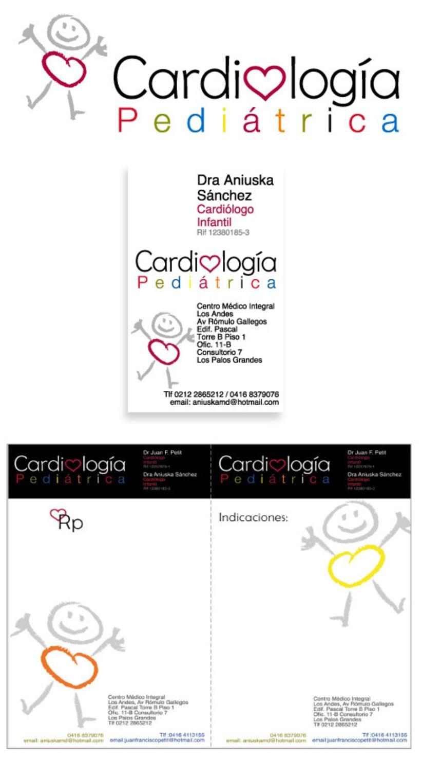 logotipo y soportes cardiologia pediátrica 1