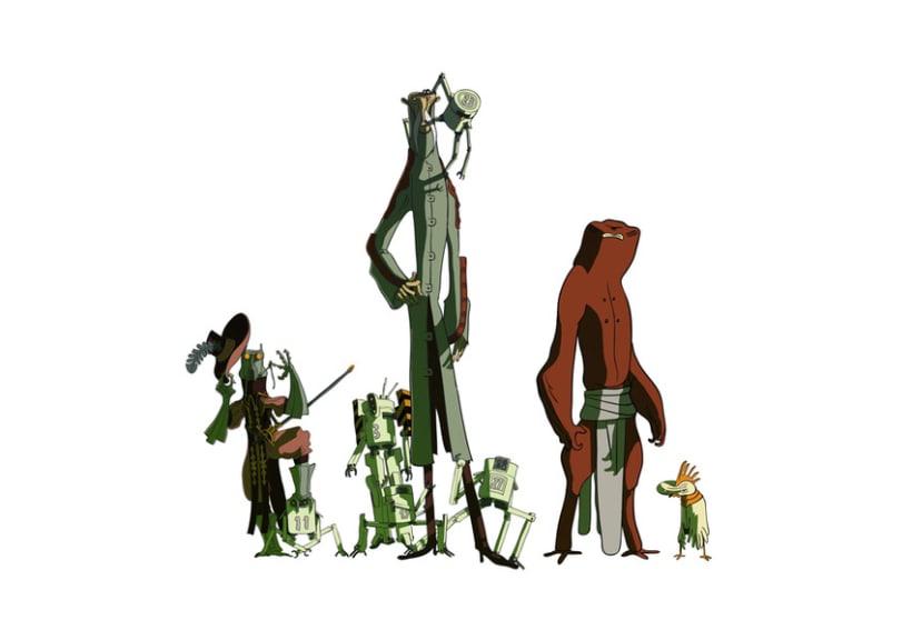 Concepto de personajes 1