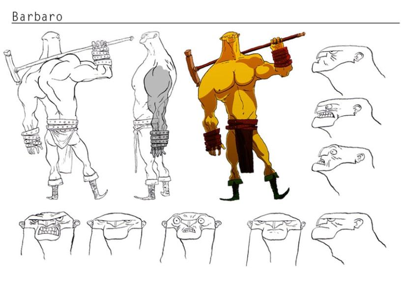 Concepto de personajes 2