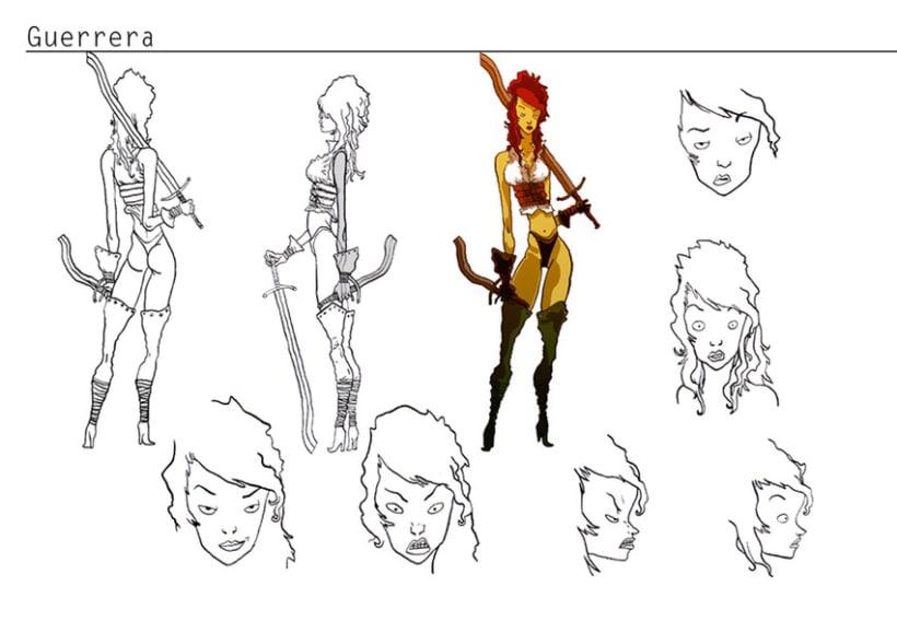 Concepto de personajes 3