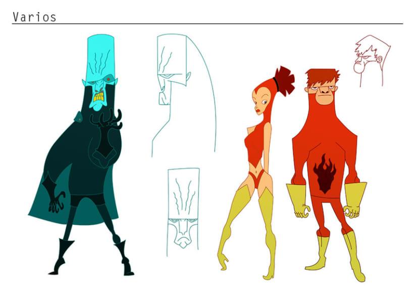 Concepto de personajes 4