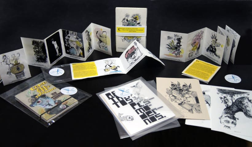 Merchandesign Auto-promocional a partir de obra artística 1