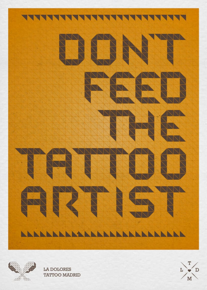 Don´t feed the tattoo artist 2