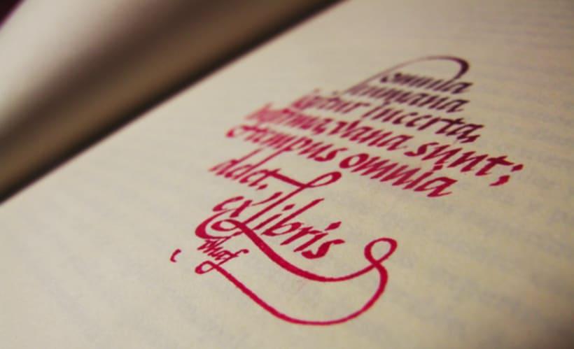 Ex libris y firma 6