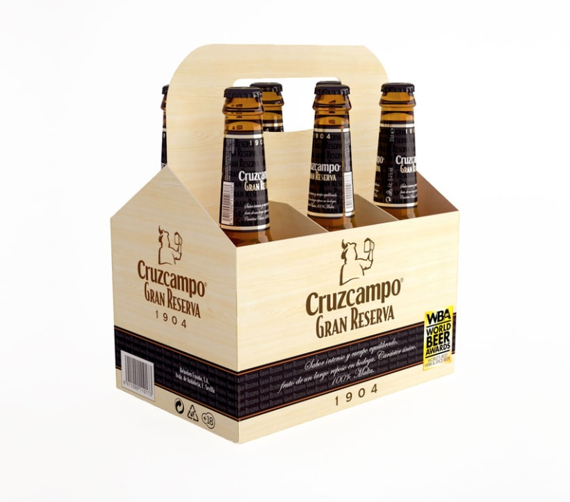 Cruzcampo 3D Packaging 1