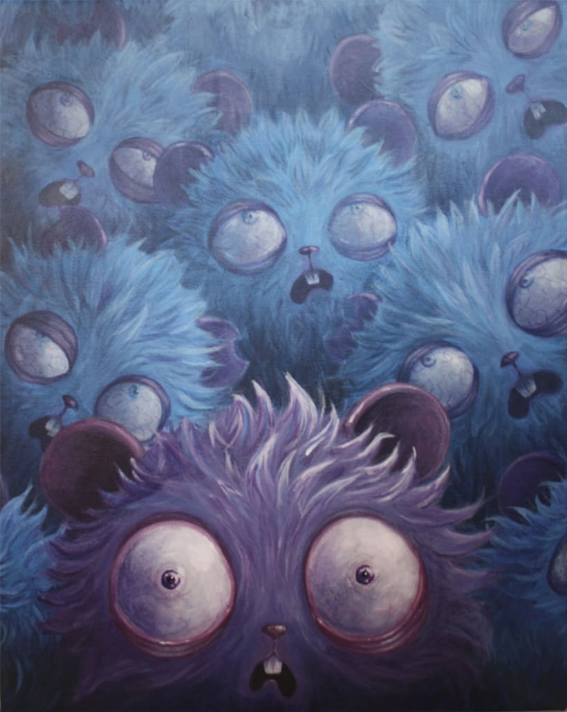 La amenaza de los Gamusinos Azules 1