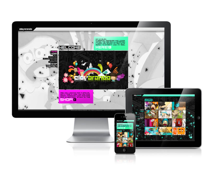 Showreel & Web 2012 2