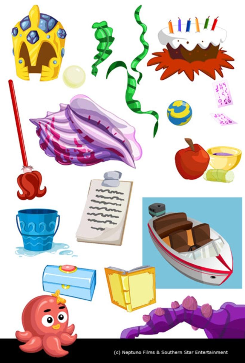 SEA PRINCESES -animación e ilustracion 2