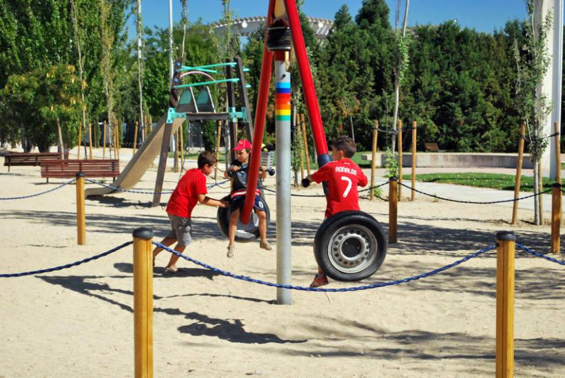 Geometrías en el parque 29