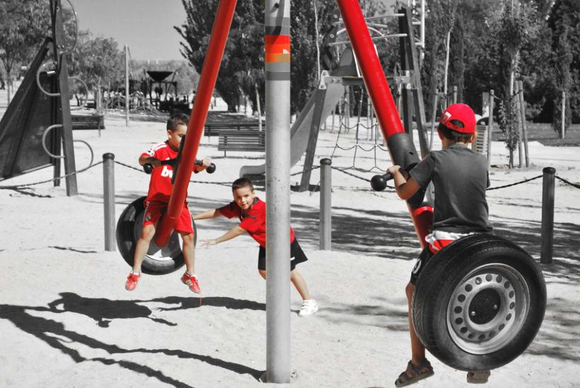 Geometrías en el parque 31