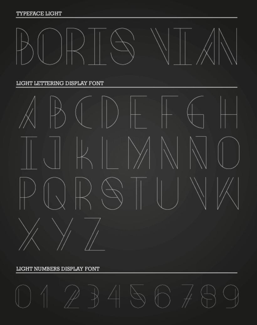 Boris Vian Font 4