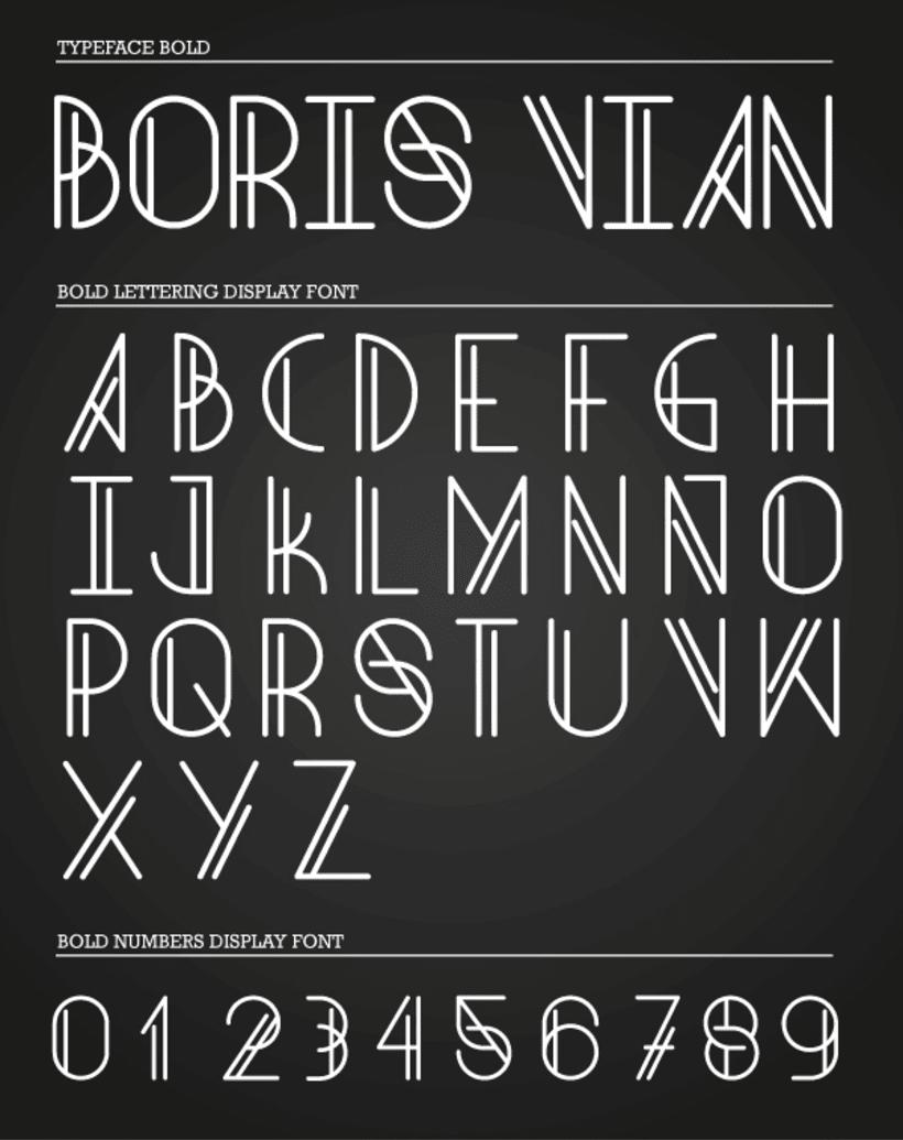 Boris Vian Font 3