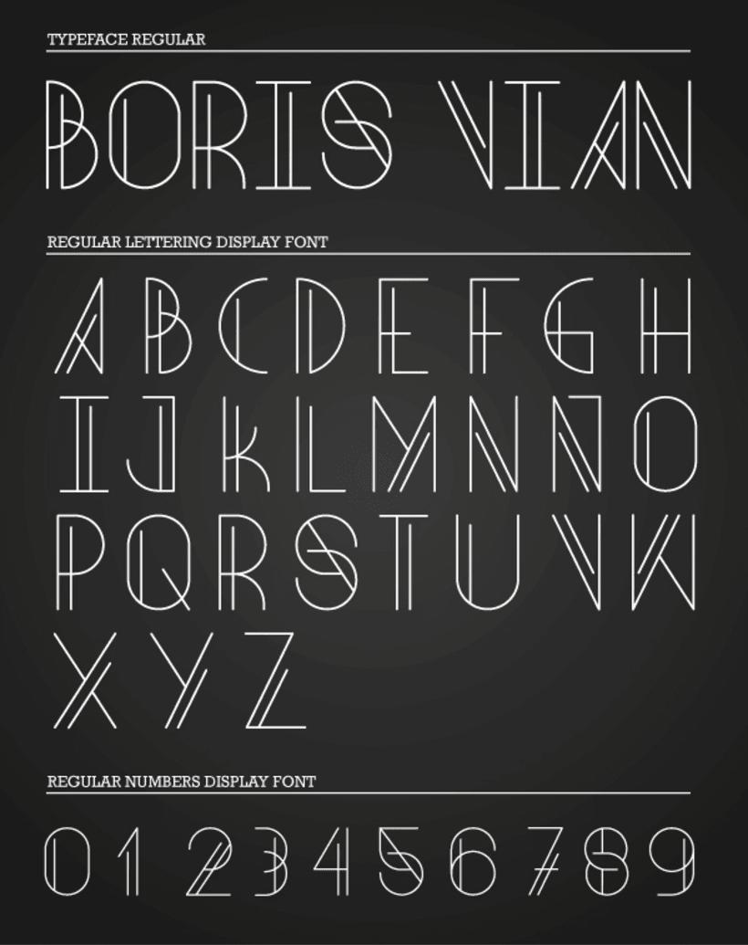 Boris Vian Font 2