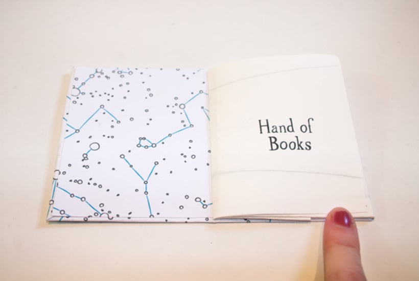Hand of Books 6