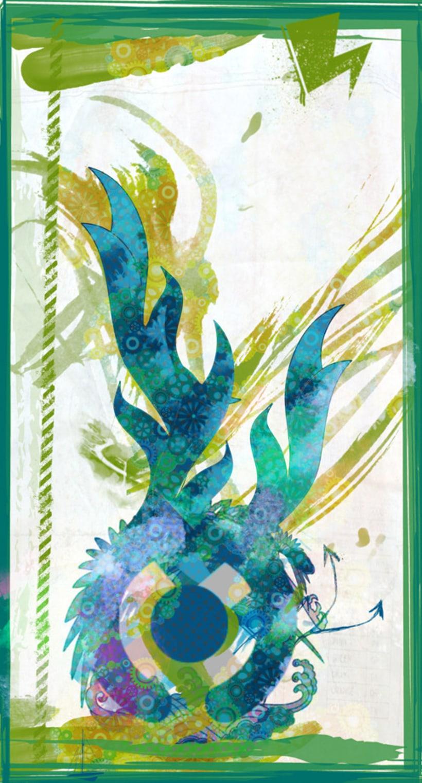 Dragon verde mecanico 2