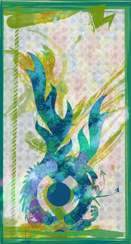 Dragon verde mecanico 1