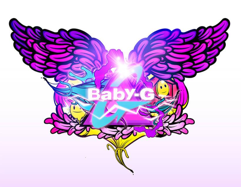 Baby G SHOCK 3