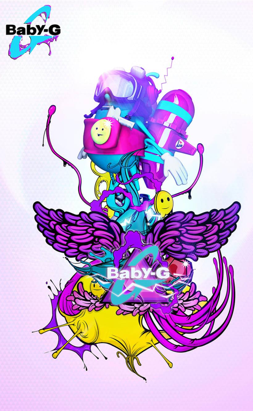 Baby G SHOCK 2