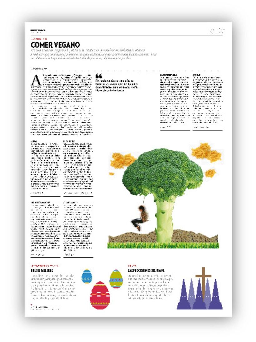 Comer Vegano - Revista Barcelonés 3