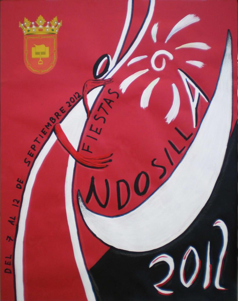 Cartel Fiestas Andosilla 2012 2